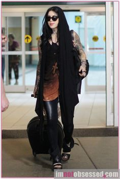Love this outfit on Kat Von D