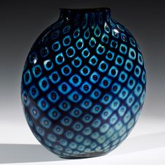 Treasure Pill Pineapple Vase by Hot Glass Alley Jake Pfeifer, Artistic Handblown Glass