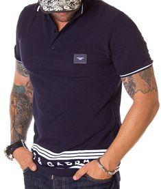 Dolce & Gabbana Tricou Polo Classic SS19 - Bleumarin | Tricouri polo | Polo | Brande Polo Classic, Polo Shirt, Casual, Mens Tops, Shirts, Fashion, Moda, Polos, La Mode