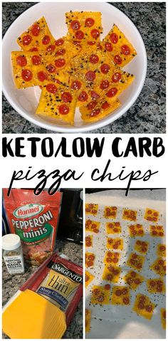 Keto/Low Carb Pizza Chips - Cheese Chips - Ideas of Cheese Chips - Keto/Low Carb Pizza Chips- ketogenic diet low carb recipe. Keto Foods, Keto Snacks, Keto Desserts, Paleo Diet, Gourmet Recipes, Low Carb Recipes, Diet Recipes, Smoothie Recipes, Recipes Dinner