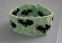 Small Hearts Bracelet Free Crochet Pattern