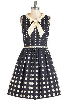 Retro 1960s Dress Plus Size: Peppy Personality Dress