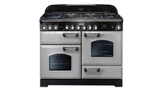 Rangemaster Classic Deluxe Dual Fuel Range Cooker with Gas Hob, grill, electric fan oven & multifunction oven. Discount prices & nationwide Delivery Available. Foyers, Induction Range Cooker, Dual Fuel Range Cookers, Oven And Hob, American Fridge Freezers, Vert Olive, Olive Green, Domestic Appliances, Minerals