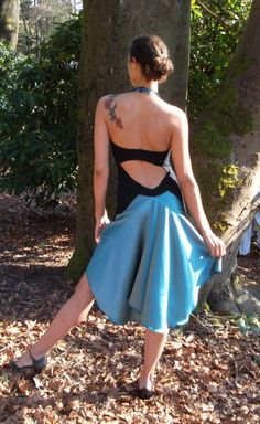 Stellar's Jay Tango Dress by TangoAzul on Etsy
