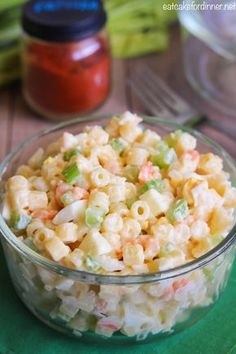 Macaroni Salad is a classic American side dish served up at summer barbecues and picnics every year. This is the best macaroni salad recipe ever with the perfect balance of flavors. Macaroni Recipes, Pasta Salad Recipes, Costco Shrimp Salad Recipe, Recipe For Macaroni Salad, Cold Shrimp Salad Recipes, Casserole Recipes, Homemade Macaroni Salad, Amish Macaroni Salad, Classic Macaroni Salad