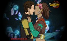 Love is In The Air - Tales From The Borderlands by InfernoKun.deviantart.com on @DeviantArt