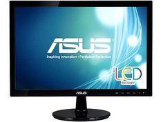 """ASUS VS207D-P 19.5"""" HD VGA Back-lit LED Monitor"""