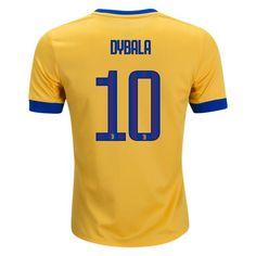 bd40cbc66 adidas Paulo Dybala Juventus Youth Away Jersey 17 18 Football Soccer