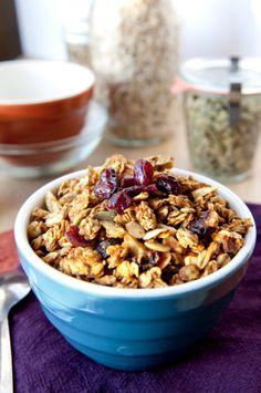 Granola no café da manhã
