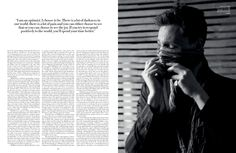 Tom Hiddleston | Interview and Photoshoot with Flaunt Magazine Issue 126 | It's Not Abstract, this Kindness (February, 2013)