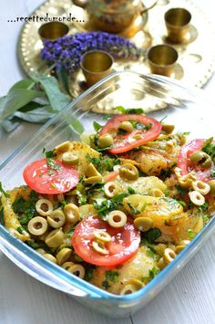 Batch Cooking, Healthy Cooking, Healthy Recipes, Tunisian Food, Ramadan Recipes, Balanced Meals, Fish Dishes, Pasta Salad, Food And Drink