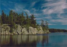 CHECK--Several Diff Years--Grundy Lake Provincial Park, Britt, ON. This is our favorite and our go-to campground! It is very private, there are lots of great hiking trails, good fishing, & great canoeing and non-motorized lakes.