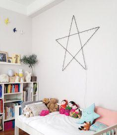Déco de Noël: une étoile lumineuse DIY