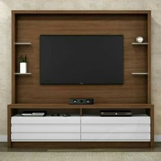 the latest minimalist sideboard tv set - Decorhouse Modern Tv Room, Modern Tv Wall Units, Tv Unit Decor, Tv Wall Decor, Tv Cabinet Design, Tv Wall Design, Lcd Panel Design, Tv Unit Furniture Design, Tv Stand Designs