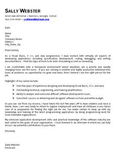 Extended Leave Cover Letter Sample  Best Cover Letter Samples