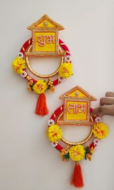 Cd Crafts, Puppet Crafts, Diy Crafts For Gifts, Diy Home Crafts, Decor Crafts, Diwali Diy, Diwali Craft, Handmade Decorative Items, Diwali Decoration Items