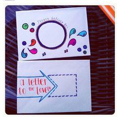 Decorative envelopes (for pen pals)