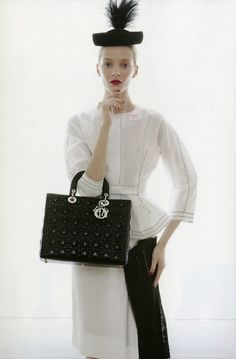 Dior in Vogue. #handbags