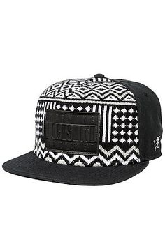 RockSmith The Freetown Sweater Strapback Hat in Black Visual Kei 51377722dacb