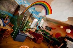 High Street Hostel in Edinburgh, Scotland -- What a beautiful place! Great price and all female dorm is a great plus!