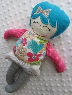 GIVEAWAY! Win this adorable, handmade doll from Meme & Pearl. With every purchase, Meme & Pearl will donate a doll to CASA. #giveaway #win #contest