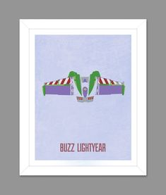 Digital Download Toy Story Buzz Lightyear Wings Poster Art Nursery Art Print, Toy Story Nursery Art Boys Room - 8x10 or 11x14 on Etsy, $6.00
