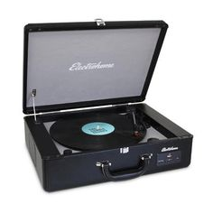 Electrohome Electrohome Archer Vinyl Turntable Record Player Stereo System with Built-in ...