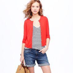 cardigan & stripes