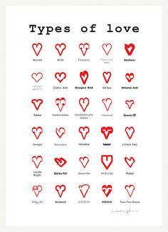 Typo - Types of Love <3