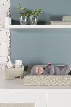 Babykamer - Babyroom - Nursery - Commode - Changing table - Babykamerstyling - Babykamer decoration