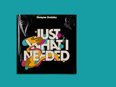 Dwayne Gretzky: Typographic Album Covers by Studio io Graphic Design Company, Graphic Design Print, Album Cover Design, Vinyl Cover, Illustrations And Posters, Packaging Design Inspiration, Album Covers, Pop Art, Illustration Art