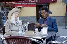 Tilda Swinton and Isaac de Bankole in Jim Jarmusch's The Limits Of Control.