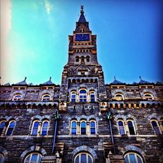 Georgetown University in Washington DC, D.C. Auburn & I stumbled upon their graduation ceremony while visiting in May, 2015.