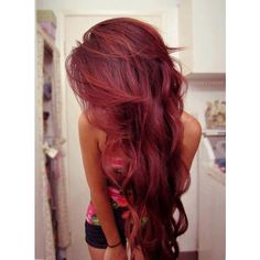Pinterest / Search results for dark red hair ❤ liked on Polyvore