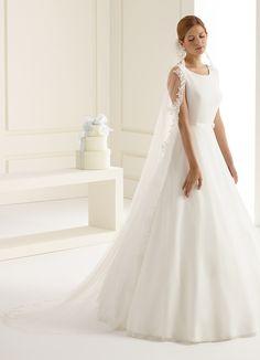 b156be8ead8b6 Astonishing veil S219 from Bianco Evento  biancoevento  veil  weddingdress   weddingideas  bridetobe