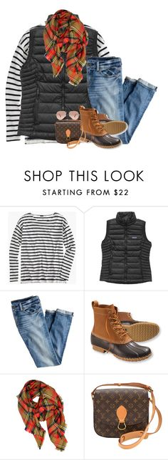 """More fall!🍁"" by pineappleprincess1012 ❤ liked on Polyvore featuring J.Crew, Patagonia, L.L.Bean, LA77, Louis Vuitton and Ray-Ban"
