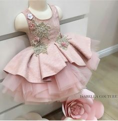 Elegante vestido Rosa!