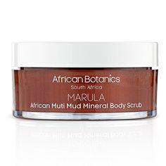 Marula African Muti Mud Mineral Body Scrub AFRICAN BOTANICS