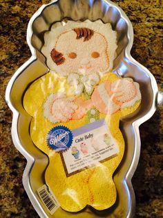 Wilton Cute Baby Character Cake Pan W/insert & by ncknittinchick, $29.95