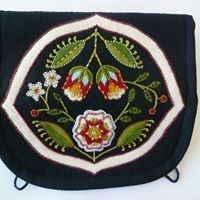 Rescht Embroidery Jewellery Roll with Margaret Light
