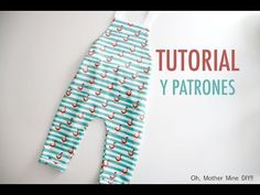 Patrones peto de punto flamencos (gratis hasta talla 6 años) - YouTube Baby Clothes Patterns, Baby Patterns, Clothing Patterns, Baby Sewing Tutorials, Diy Clothing, Sewing For Kids, Dressmaking, Baby Dress, Doll Clothes