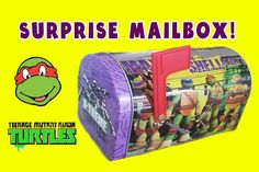 TMNT Teenage Mutant Ninja Turtles Surprise Mailbox by Toy Box Magic. Includes batman, minions and other cool toy surprises.  Subscribe to our ♥awesome♥ channel here: https://www.youtube.com/toyboxmagic  Music by: www.bensound.com