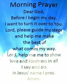 Morning Prayer:Prayer for the morning Prayer For Guidance, Prayer For Peace, Prayers For Strength, Prayers For Healing, Faith Prayer, God Prayer, Morning Prayer For Family, Daily Morning Prayer, Good Morning Quotes For Him