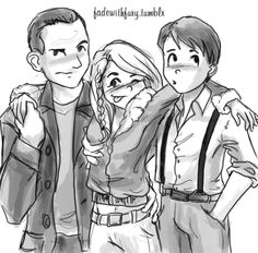 Nine, Rose and John