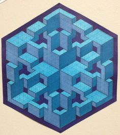 Joe's Curly Cubed by Bucwah Dedicated to Joachim Krause [Joe Curly] # impossible # isometric # geometric