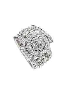 Qipao Collection by Harry Winston, Diamond Fashion Ring