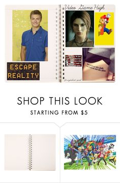 """""""VGH-Plotting- Michael Croft"""" by moon-and-back-babe123 ❤ liked on Polyvore featuring Lara"""