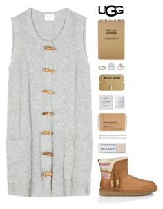 """Play With Prints In UGG: Contest Entry"" by amazing-abby ❤ liked on Polyvore featuring Acne Studios, UGG Australia, Topshop, Le Labo, Byredo and Bobbi Brown Cosmetics"