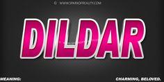 Dildar Text Art Muslim Boy Names Hd Wallpapers 3d