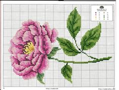 rose Garden Embroidery, Cross Stitch Embroidery, Cross Stitch Charts, Cross Stitch Patterns, Embroidery Patterns Free, Bunch Of Flowers, Cross Stitch Flowers, Flower Patterns, Needlepoint